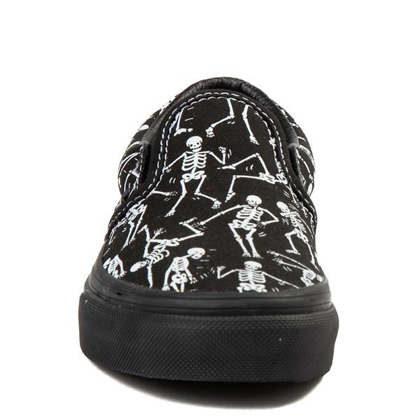 alternate view Vans Slip On Bone Dance Glow Skate Shoe - Little Kid / Big KidALT4