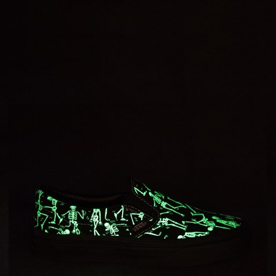 Alternate view of Youth/Tween Vans Slip On Bone Dance Glow Skate Shoe