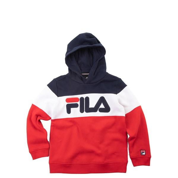 Fila Colorblock Logo Hoodie - Little Kid