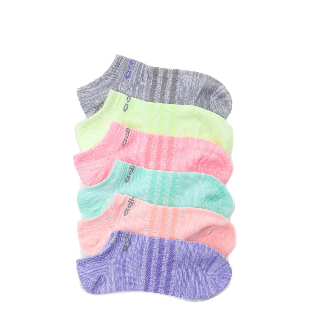 buy popular 49f20 60199 adidas Superlite No-Show Socks 6 Pack - Girls Little Kid. alternate image  default view