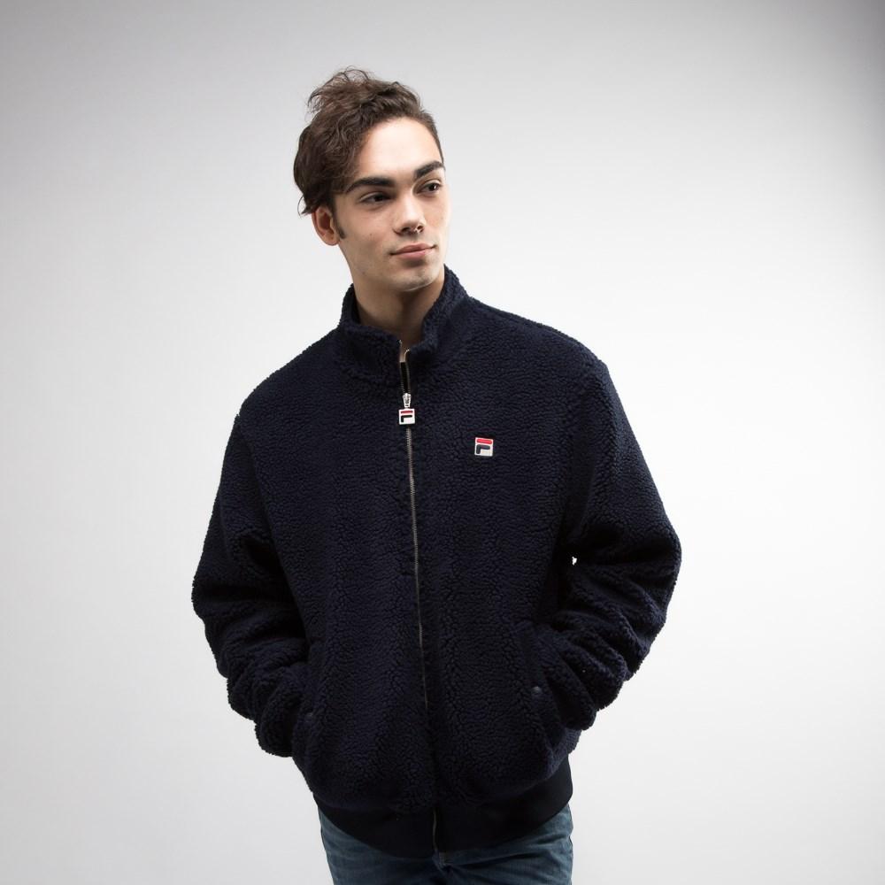 Mens Fila Finch Sherpa Jacket