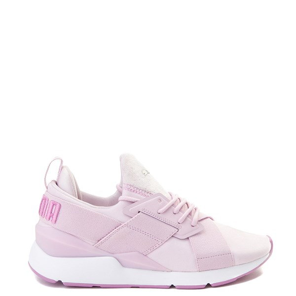 Womens Puma Muse Satin Athletic Shoe - Pink