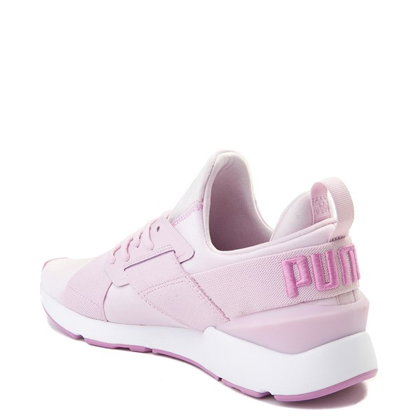 alternate view Womens Puma Muse Satin Athletic ShoeALT2