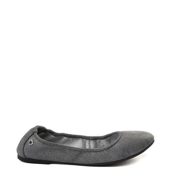 Womens Minnetonka Anna Flat - Dark Gray