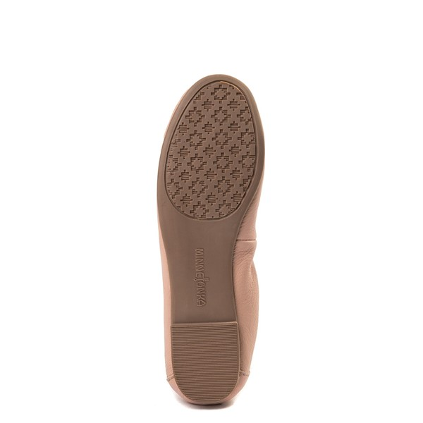 alternate view Womens Minnetonka Anna Flat - BlushALT3