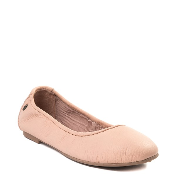 alternate view Womens Minnetonka Anna Flat - BlushALT5