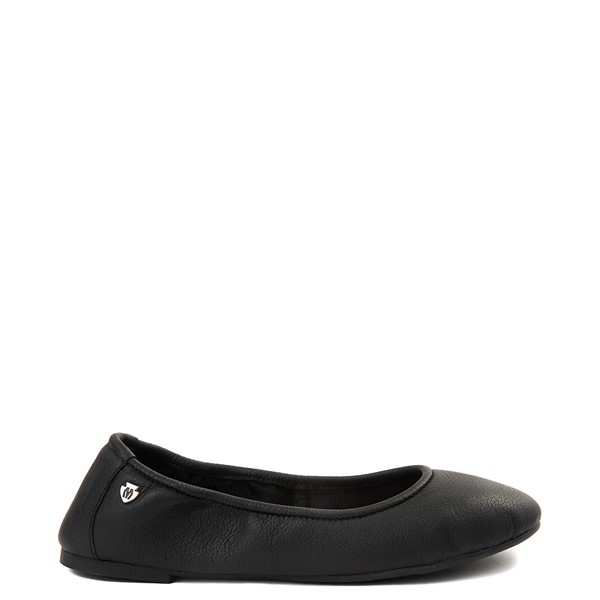 Womens Minnetonka Anna Flat - Black
