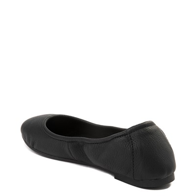 Alternate view of Womens Minnetonka Anna Flat - Black