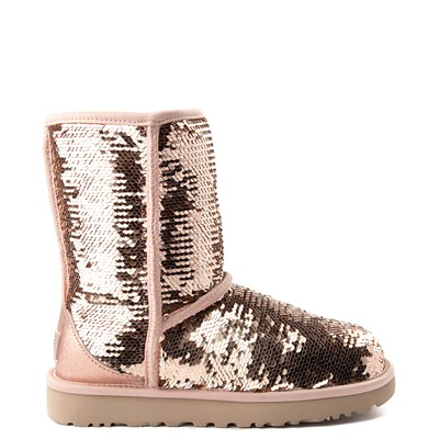 Main view of Womens UGG® Classic Short II Sequin Boot