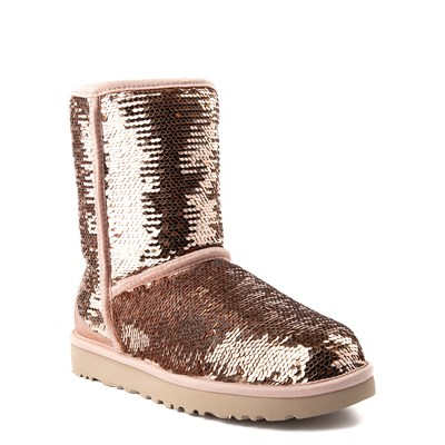 Alternate view of Womens UGG Classic Short II Sequin Boot