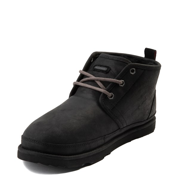 alternate view Mens UGG® Neumel Waterproof Casual Shoe - BlackALT3