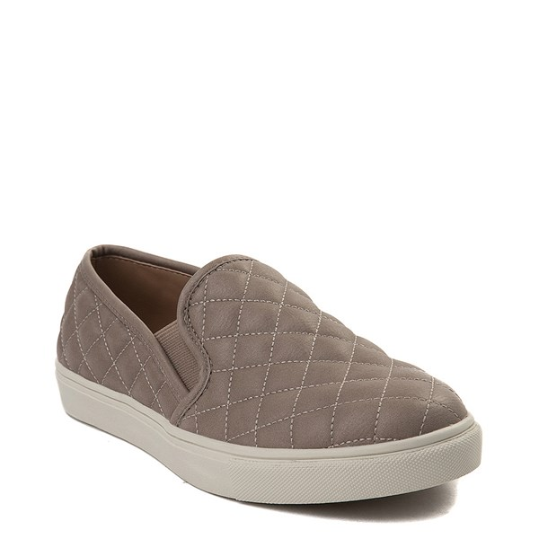 alternate view Womens Steve Madden Ecentrcq Slip On Casual Shoe - GrayALT1