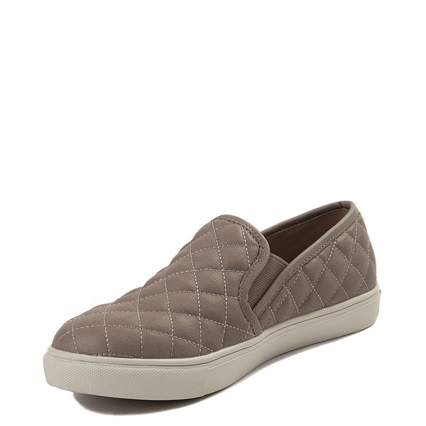 alternate view Womens Steve Madden Ecentrcq Slip On Casual Shoe - GrayALT3