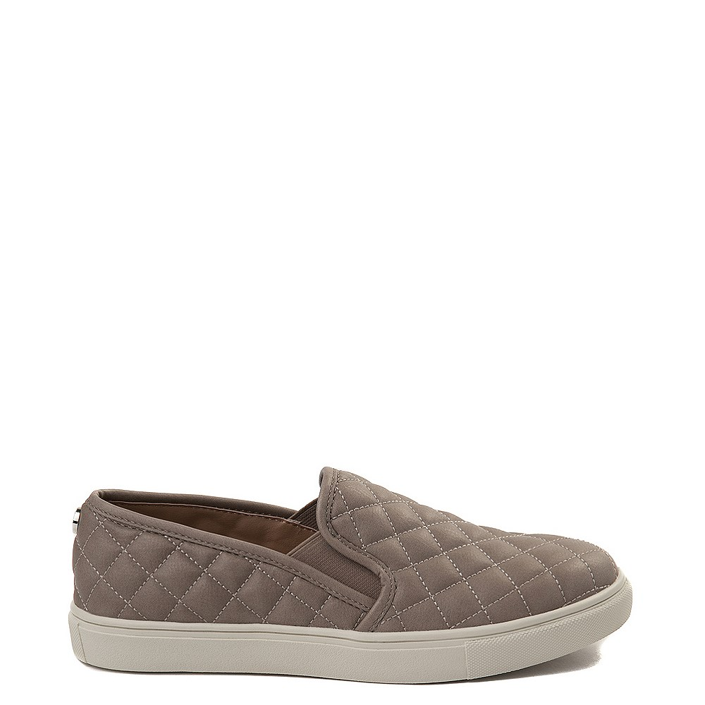 Womens Steve Madden Ecentrcq Slip On Casual Shoe - Gray