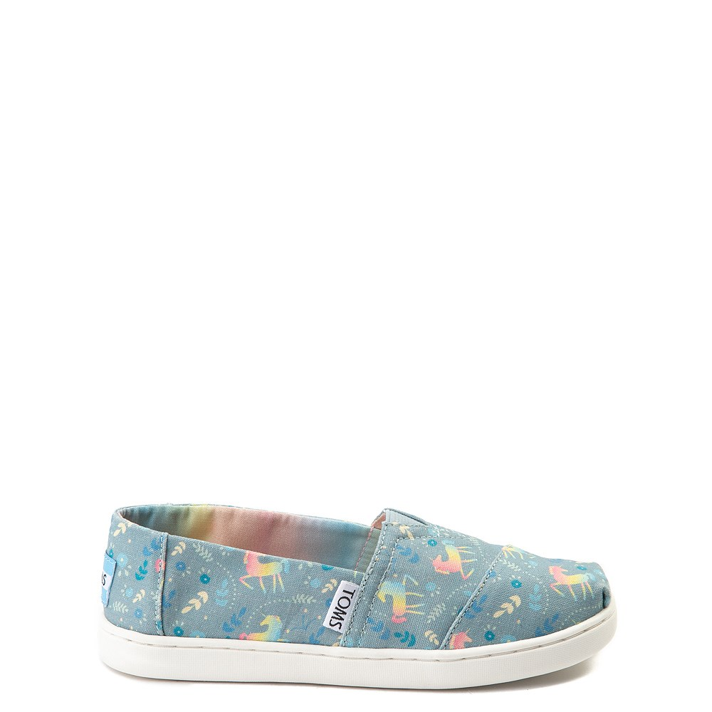 TOMS Classic Unicorn Slip On Casual Shoe - Little Kid / Big Kid
