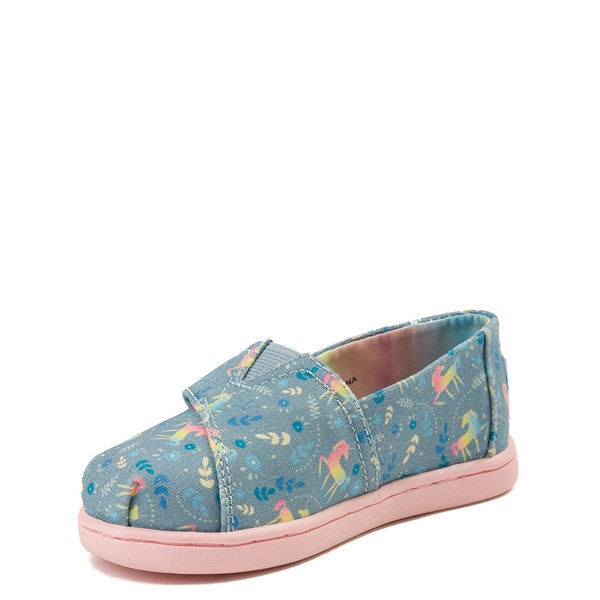 alternate view TOMS Classic Unicorn Slip On Casual Shoe - Baby / Toddler / Little KidALT3