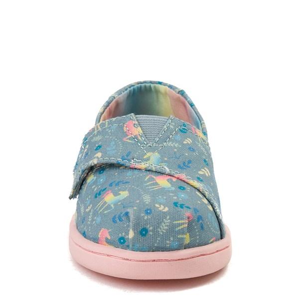 alternate view TOMS Classic Unicorn Slip On Casual Shoe - Baby / Toddler / Little KidALT4