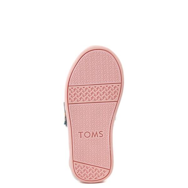 alternate view TOMS Classic Unicorn Slip On Casual Shoe - Baby / Toddler / Little KidALT5
