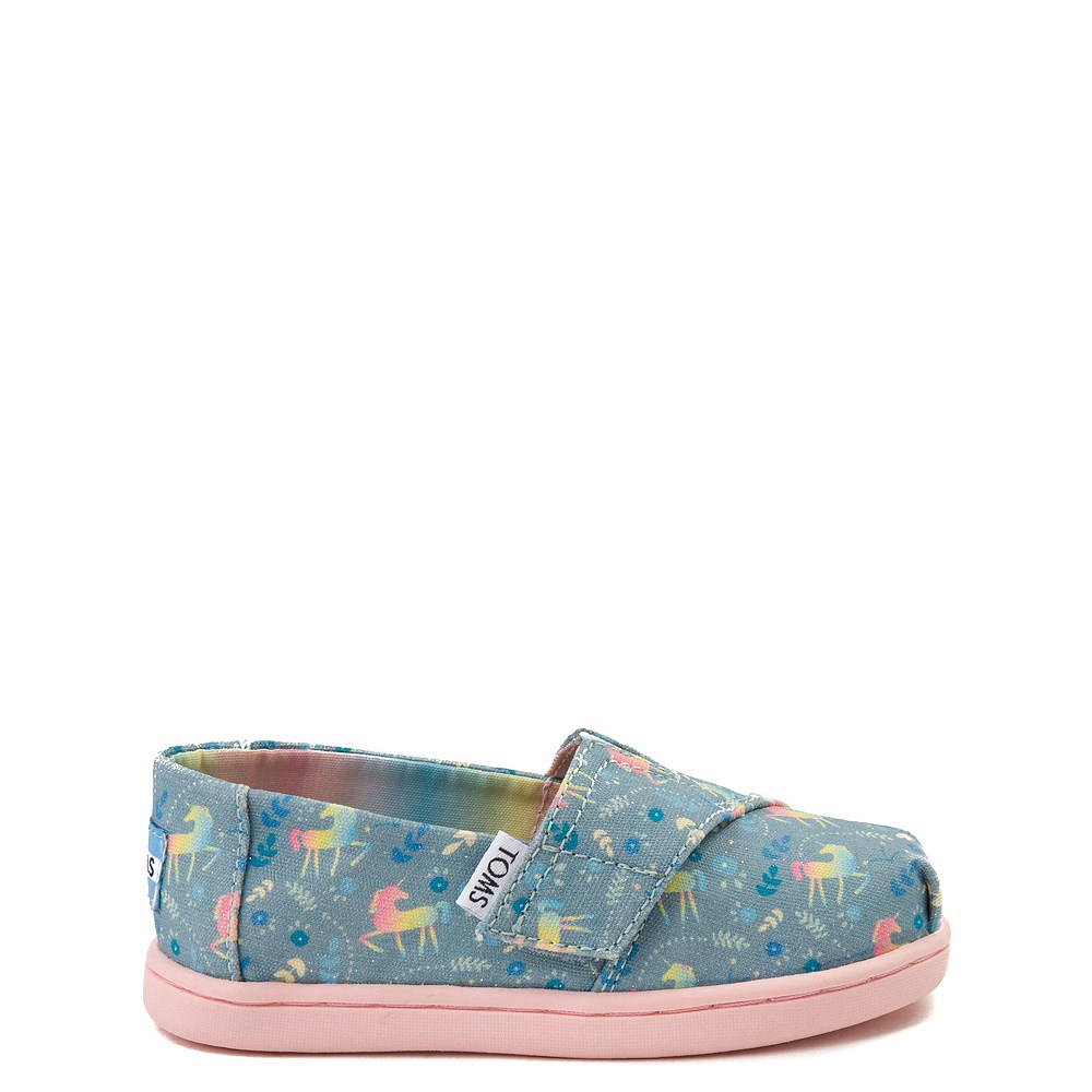 TOMS Classic Unicorn Slip On Casual Shoe - Baby / Toddler / Little Kid