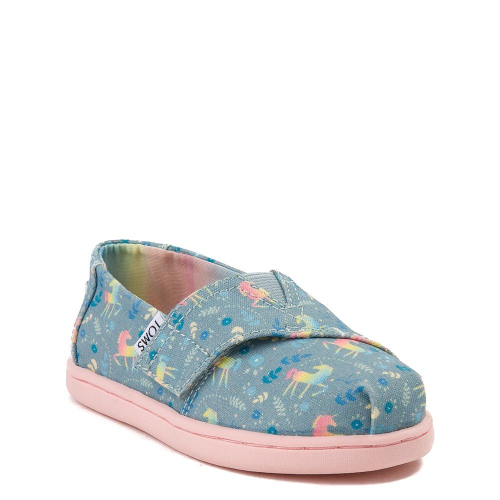 f214f77158e TOMS Classic Unicorn Slip On Casual Shoe - Baby   Toddler   Little ...
