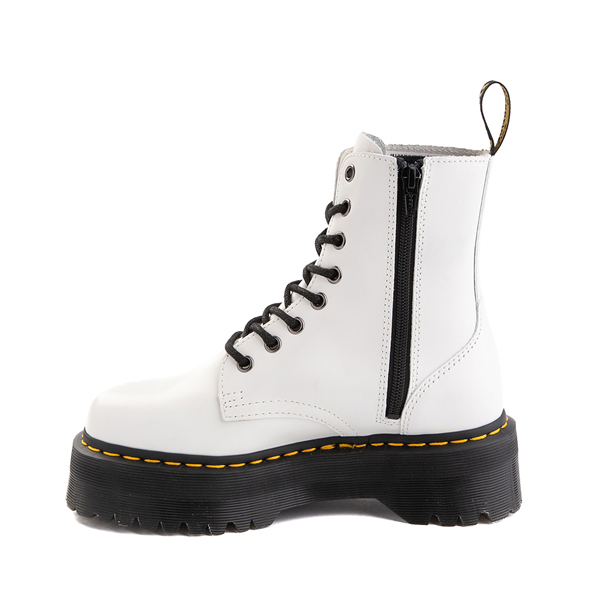 alternate view Dr. Martens Jadon Boot - WhiteALT1