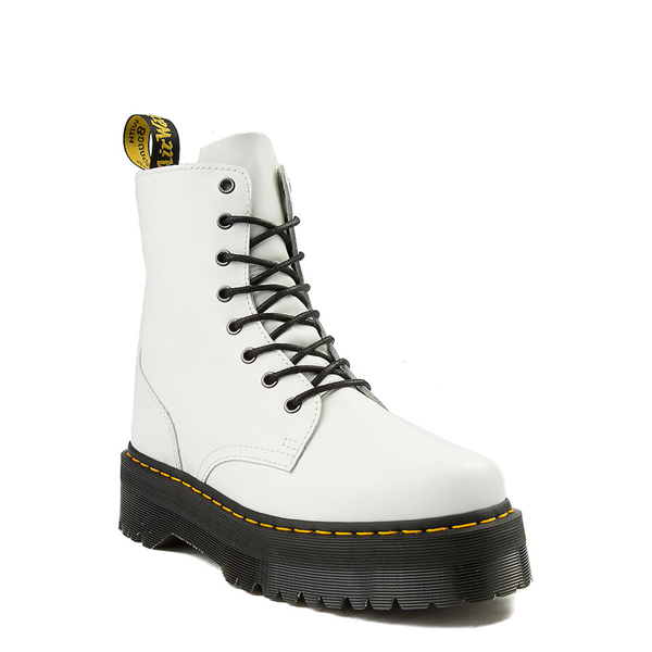 alternate view Dr. Martens Jadon Boot - WhiteALT5