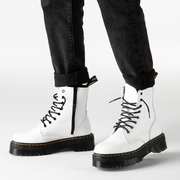 alternate view Dr. Martens Jadon Boot - WhiteB-LIFESTYLE1