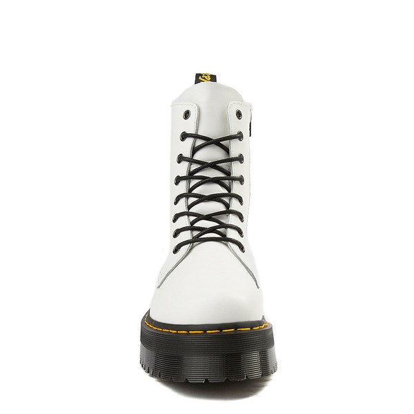 alternate view Dr. Martens Jadon Boot - WhiteALT4