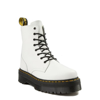 Alternate view of Dr. Martens Jadon Boot - White