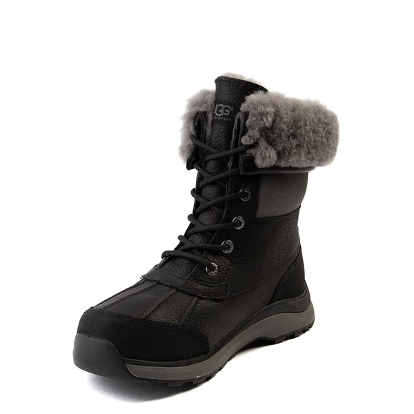 alternate view Womens UGG® Adirondack III Boot - BlackALT2
