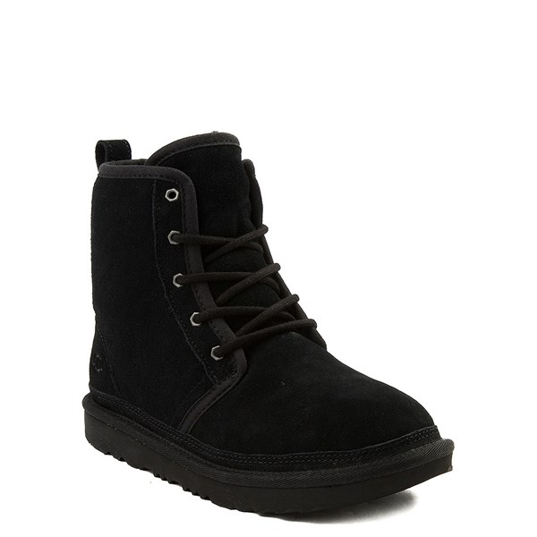 alternate view UGG® Harkley II Boot - Little Kid / Big Kid - BlackALT1