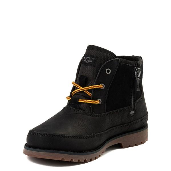 alternate view UGG® Bradley Boot - Little Kid / Big Kid - BlackALT3