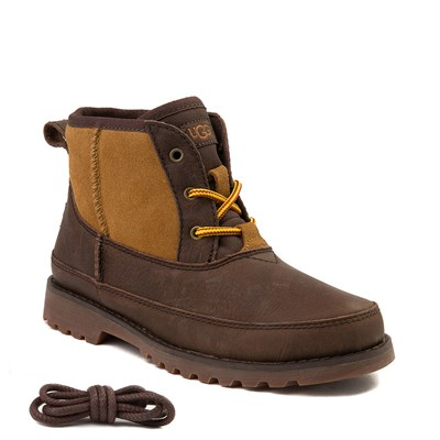 Alternate view of Youth/Tween UGG® Bradley Boot in Brown and Tan