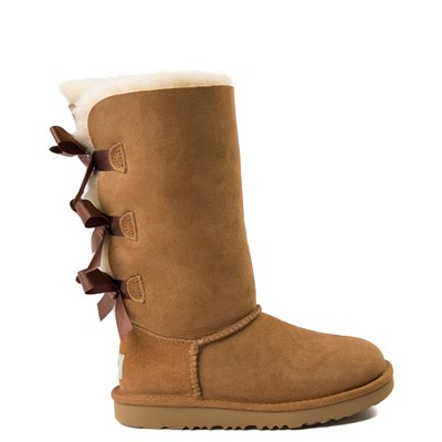 Main view of UGG® Bailey Bow II Tall Boot - Little Kid / Big Kid - Chestnut
