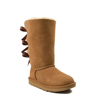 Alternate view of UGG® Bailey Bow II Tall Boot - Little Kid / Big Kid - Chestnut