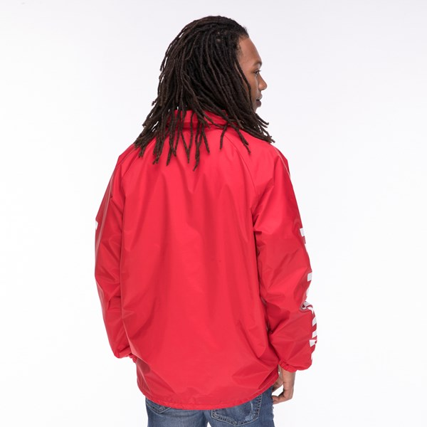 alternate view Mens Vans Coaches Jacket - RedALT1