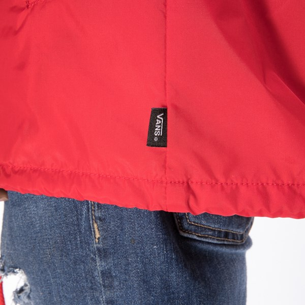 alternate view Mens Vans Coaches Jacket - RedALT4