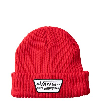 Main view of Vans Full Patch Beanie - Racing Red