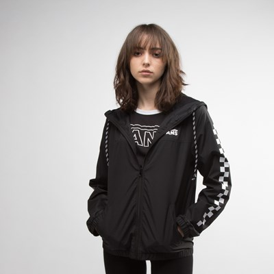 Main view of Womens Vans Kastle Windbreaker Jacket