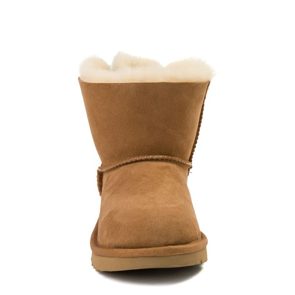 alternate view UGG® Mini Bailey Bow II Boot - Little Kid / Big Kid - ChestnutALT4