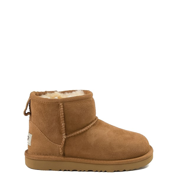 Main view of UGG® Classic Mini II Boot - Little Kid / Big Kid - Chestnut