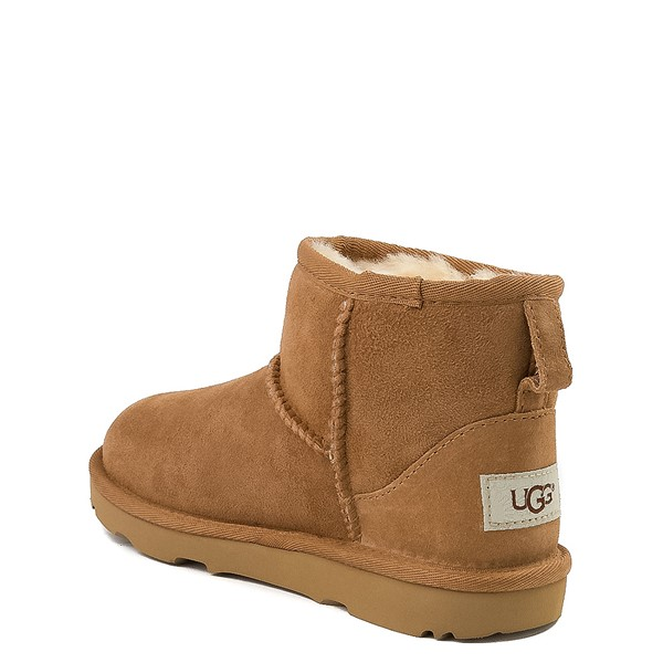 alternate view UGG® Classic Mini II Boot - Little Kid / Big Kid - ChestnutALT1