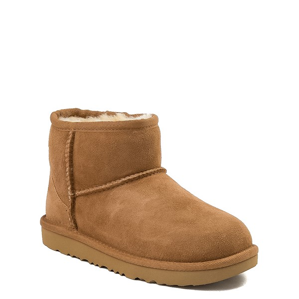 alternate view UGG® Classic Mini II Boot - Little Kid / Big Kid - ChestnutALT5