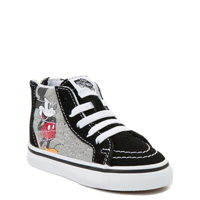 Alternate view of Disney x Vans Toddler Sk8 Hi Zip Skate Shoe