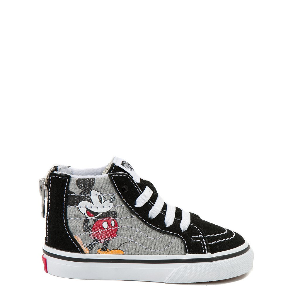 Disney x Vans Toddler Sk8 Hi Zip Skate Shoe