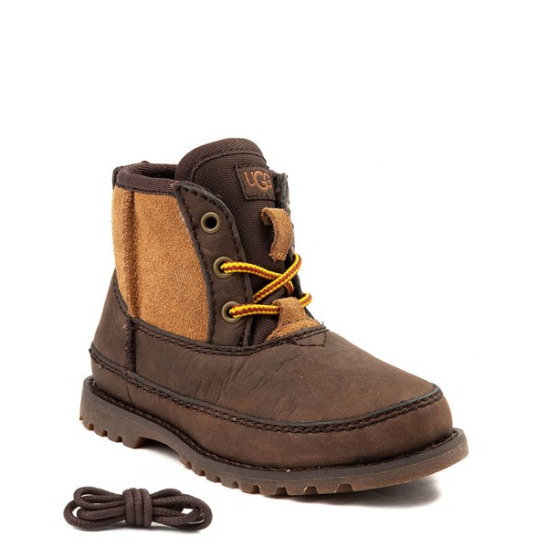 Alternate view of UGG® Bradley Boot - Toddler / Little Kid - Brown / Tan