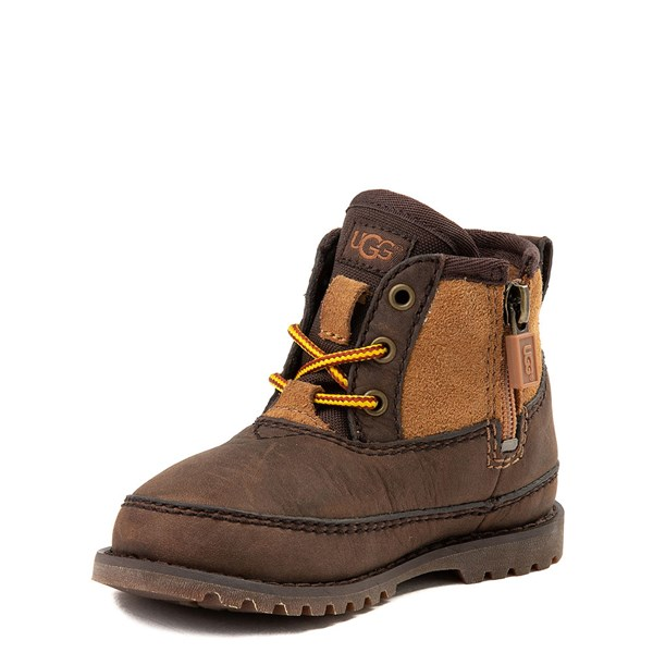 alternate view UGG® Bradley Boot - Toddler / Little Kid - Brown / TanALT3