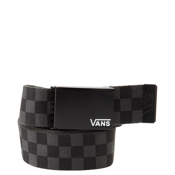 Vans Checkerboard Web Belt - Black / Gray