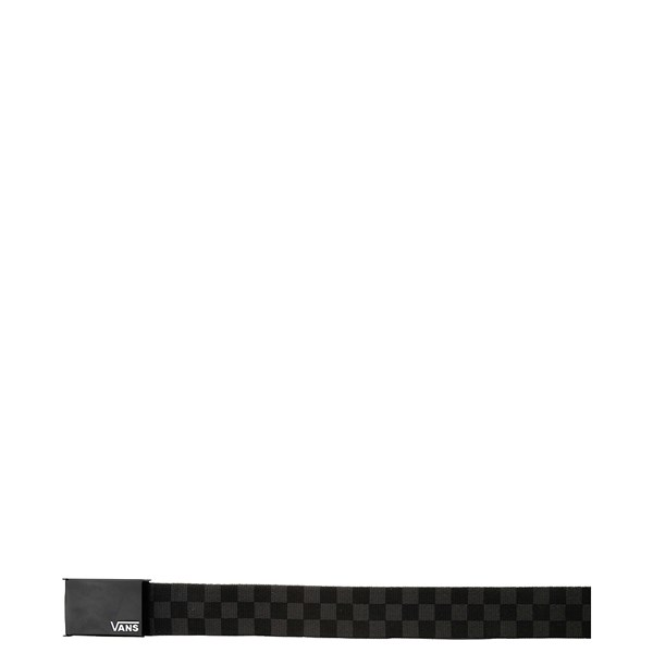 alternate view Vans Checkerboard Web Belt - Black / GrayALT1