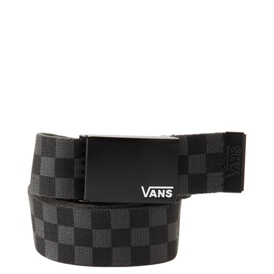 Main view of Vans Checkered Web Belt - Black / Gray
